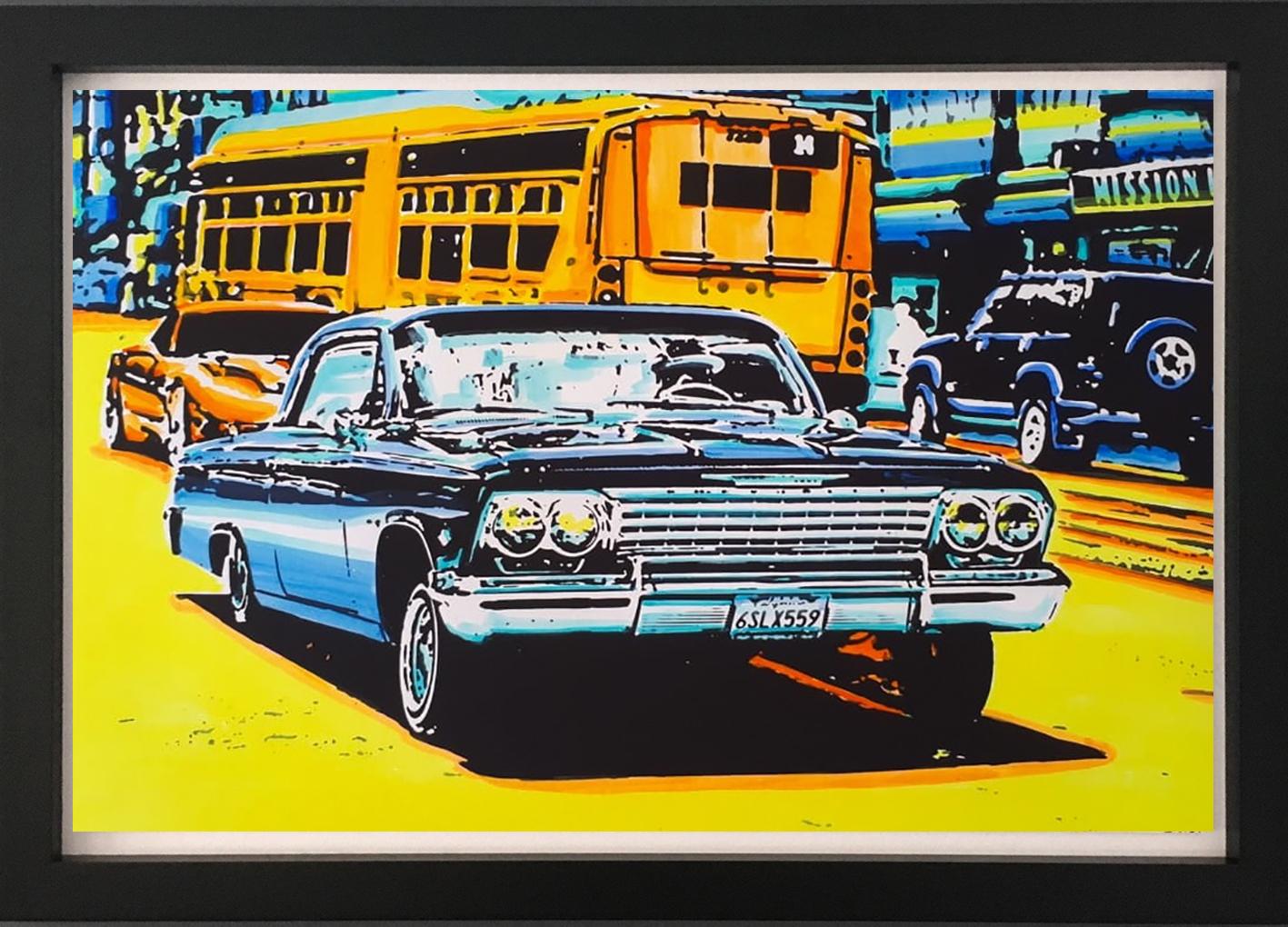 Car II in frame