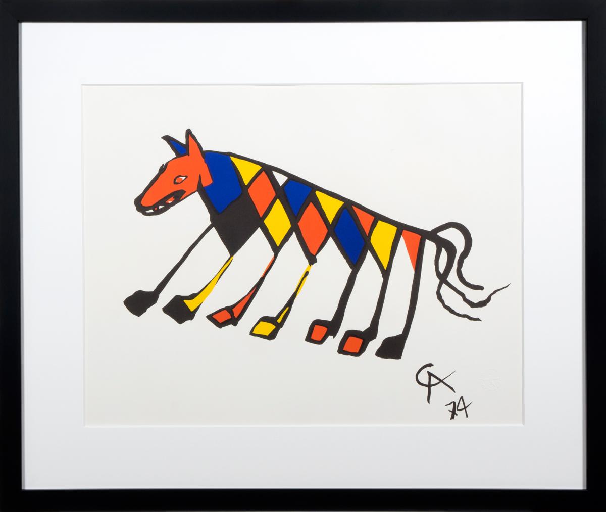 Beastie in frame