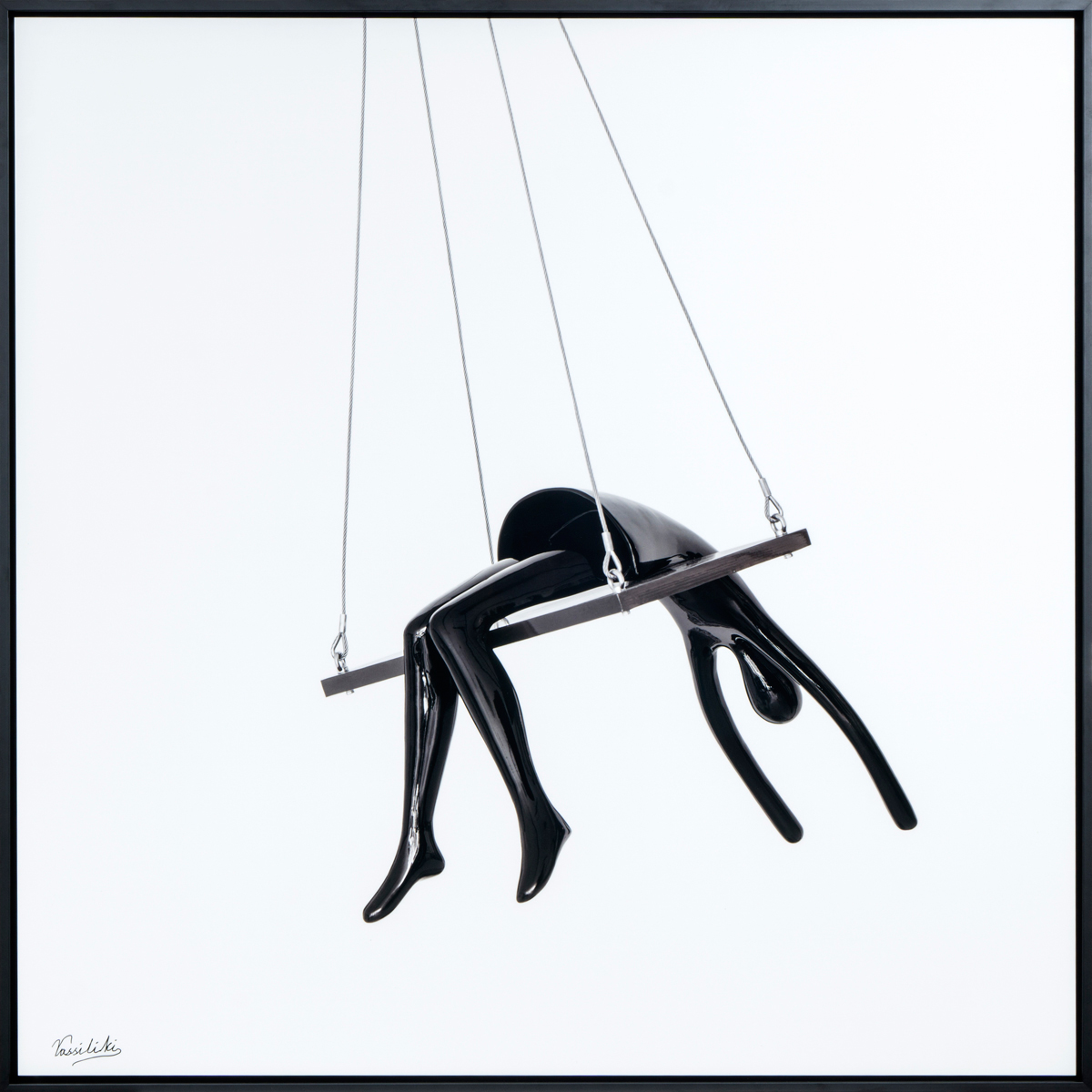 Marie - Angelique on the swing in frame