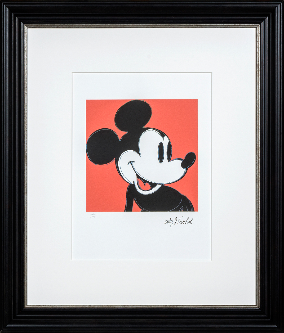 Mickey Mouse in frame