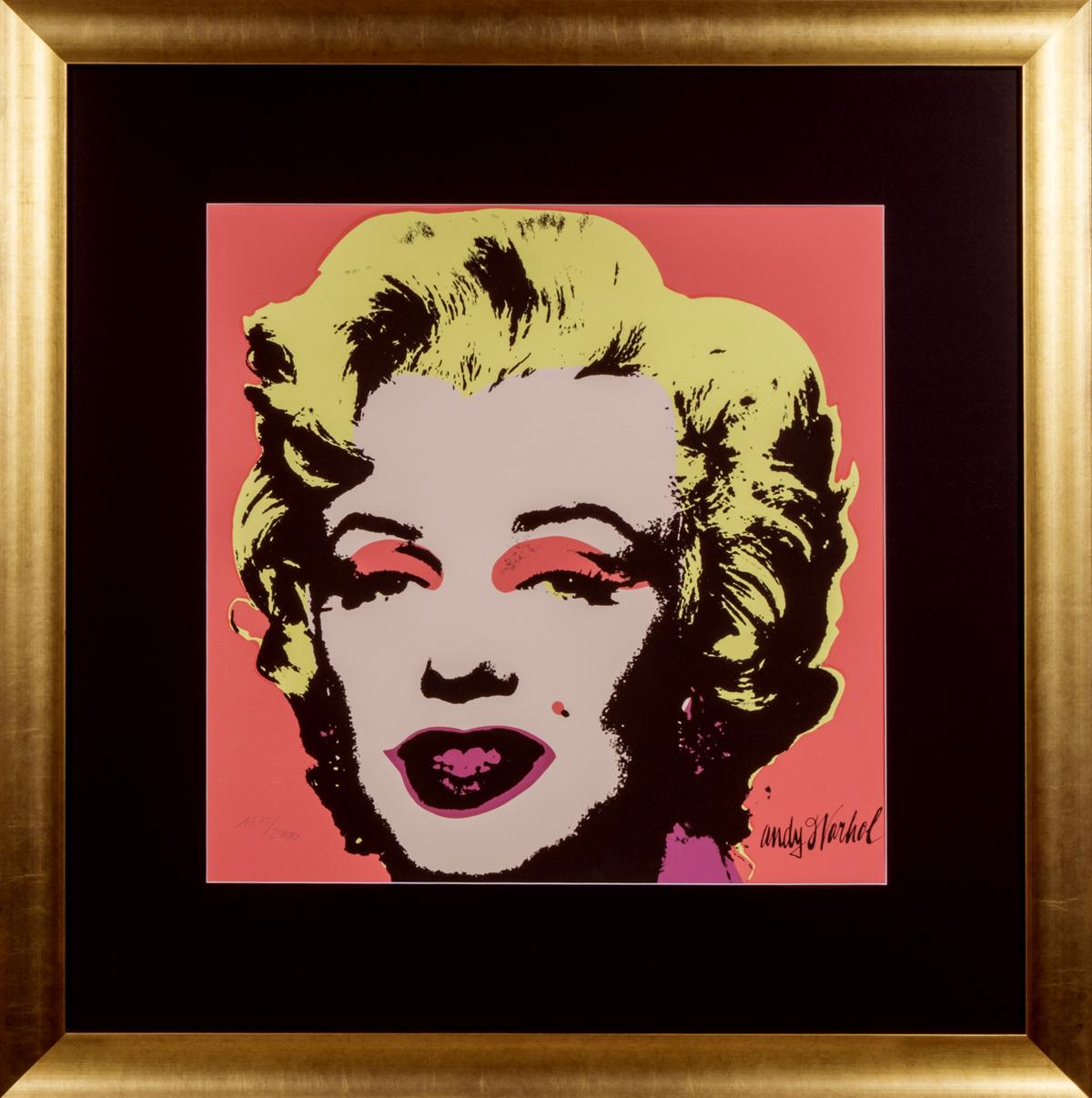 Marilyn Monroe in frame