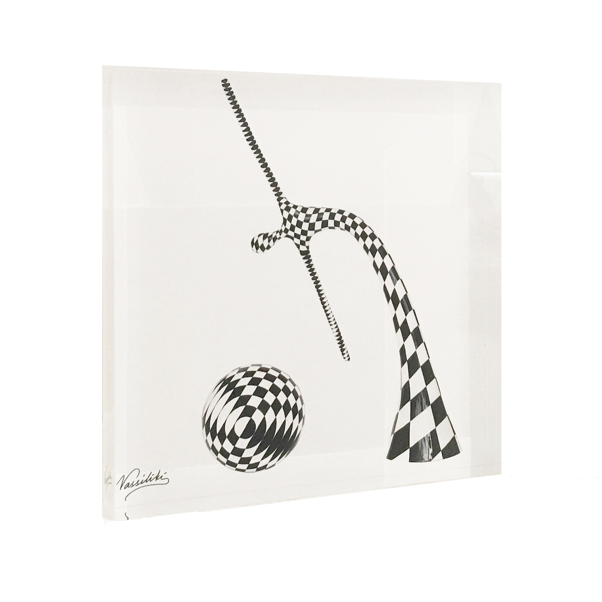 Harlequin and sphere 1