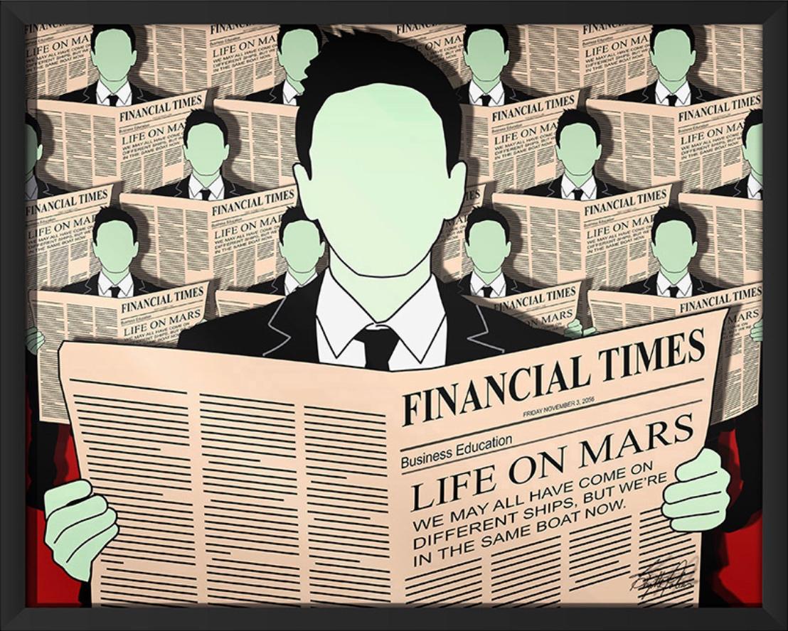 Life on Mars in frame