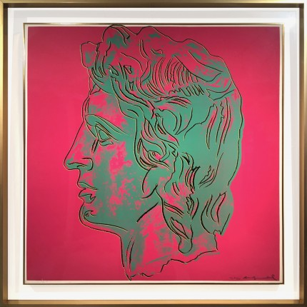 "Welcoming Andy Warhol's ""Alexander the Great"" at Mamush Gallery"