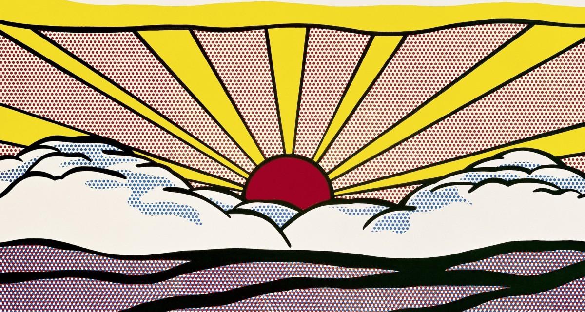 """Roy Lichtenstein """"Sunrise"""""""