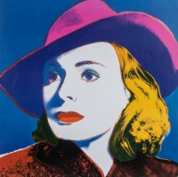 Ingrid Bergman: With hat
