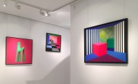 The artworks of Opy Zouni at Mamush Gallery and the poetry of Geometrical Art