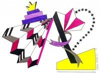 Irene Vergitsi's New Series at Mamush Gallery