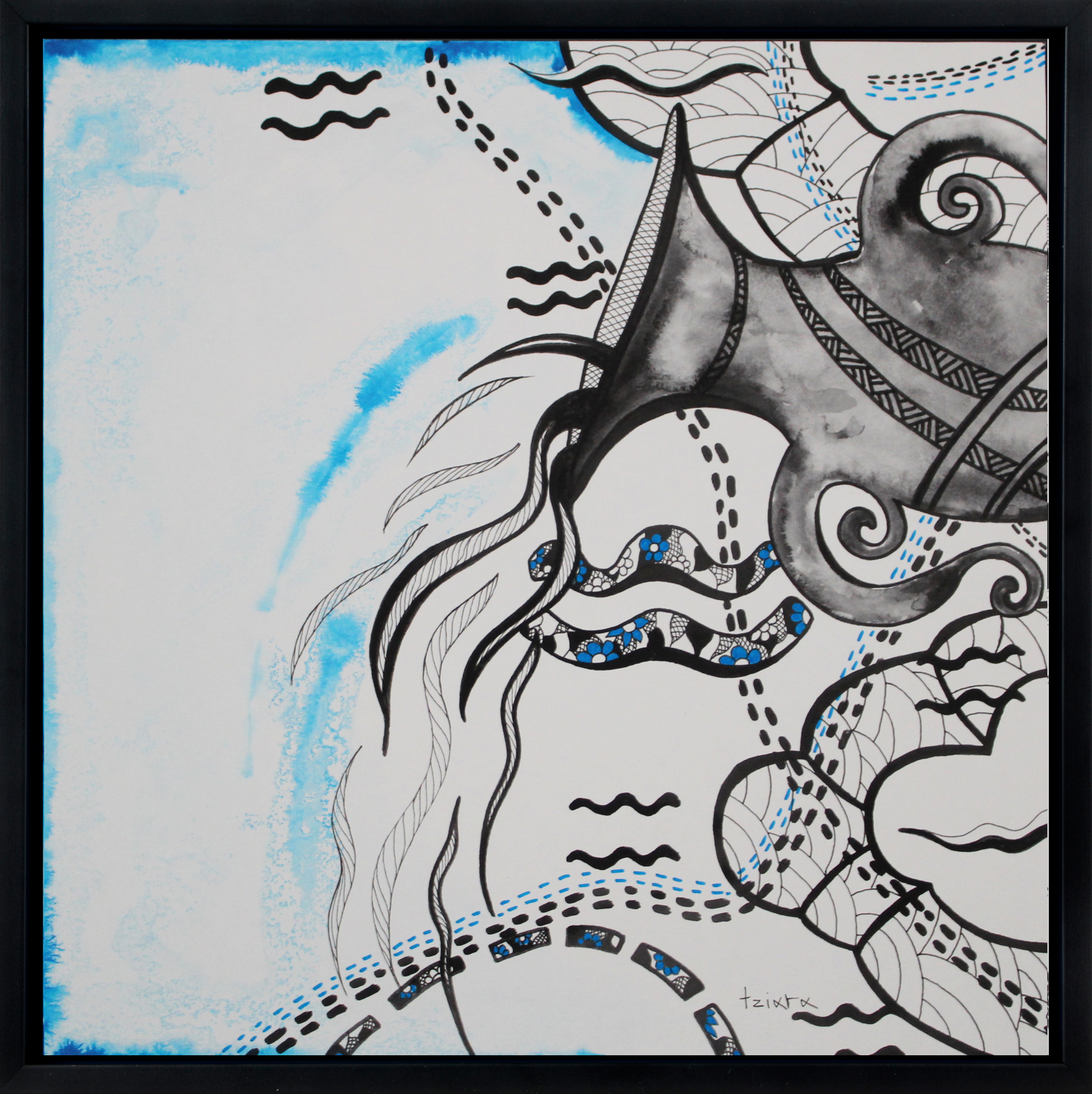 Aquarius in frame